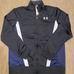 Men's Under Armour Basketball Track Jacket Sz Xl